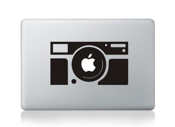 MacBook sticker Kamera