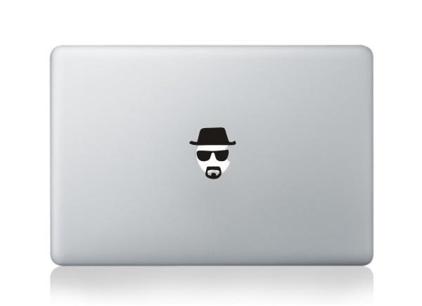 MacBook sticker Heisenberg