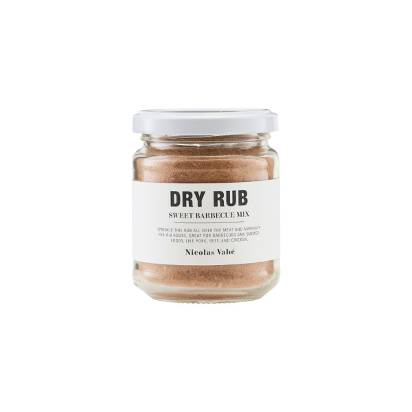 Image of   Nicolas Vahé Dry Rub, Sweet Barbecue Mix, 110 g.