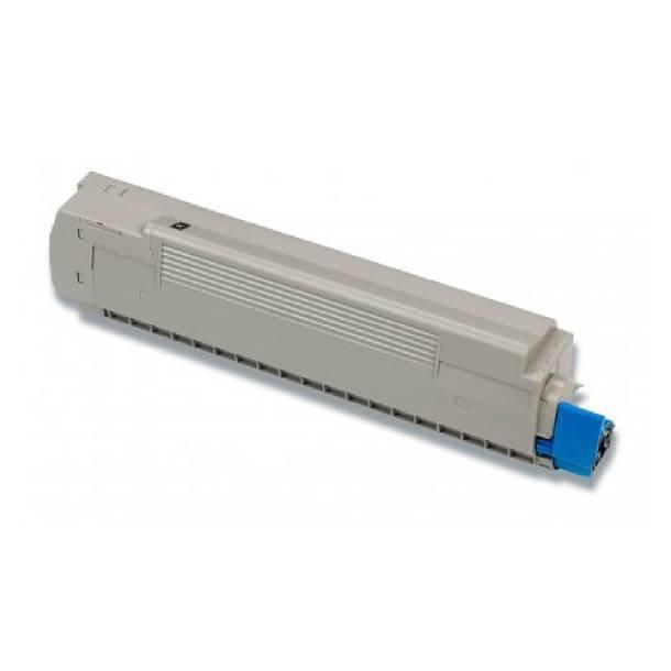 OKI C8600/C8800 BK Lasertoner – 43487712 Sort 6000 sider