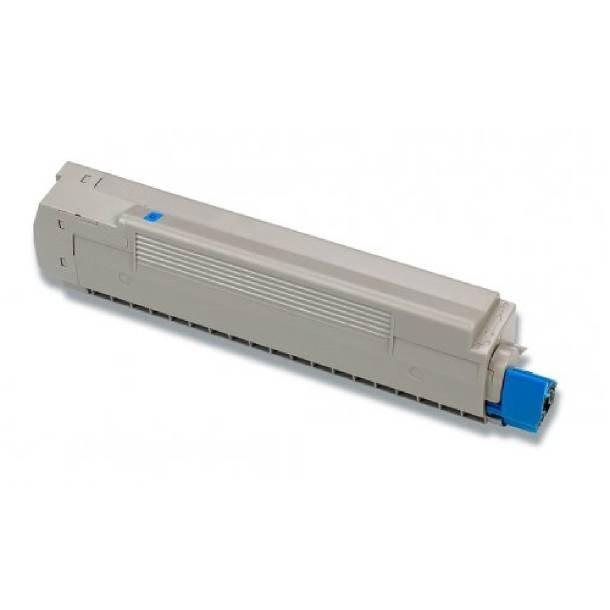 OKI C8600/C8800 C Lasertoner – 43487711 Cyan 6000 sider