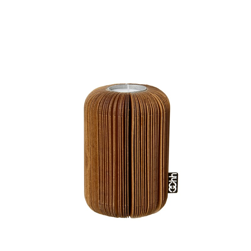 Image of   OOHH Fan tealight holder, Natural D9 X H14