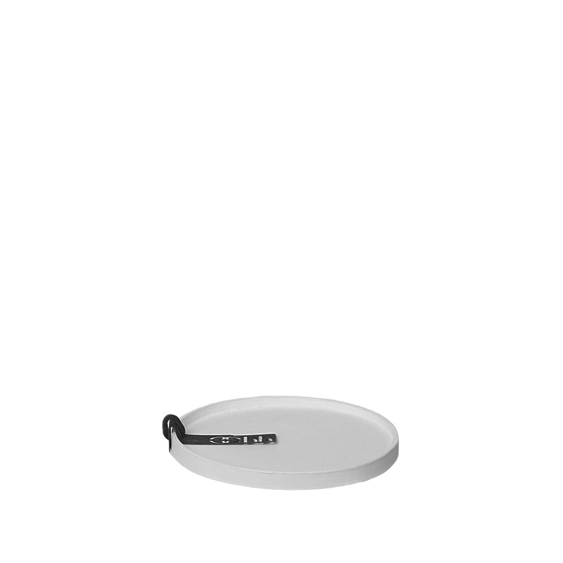 Image of   OOHH Rome Tray/Lid, Light Grey D11