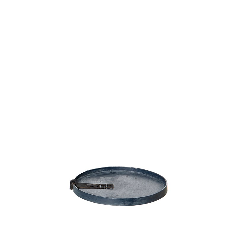 Image of   OOHH Rome Tray/Lid, Petroleum D11