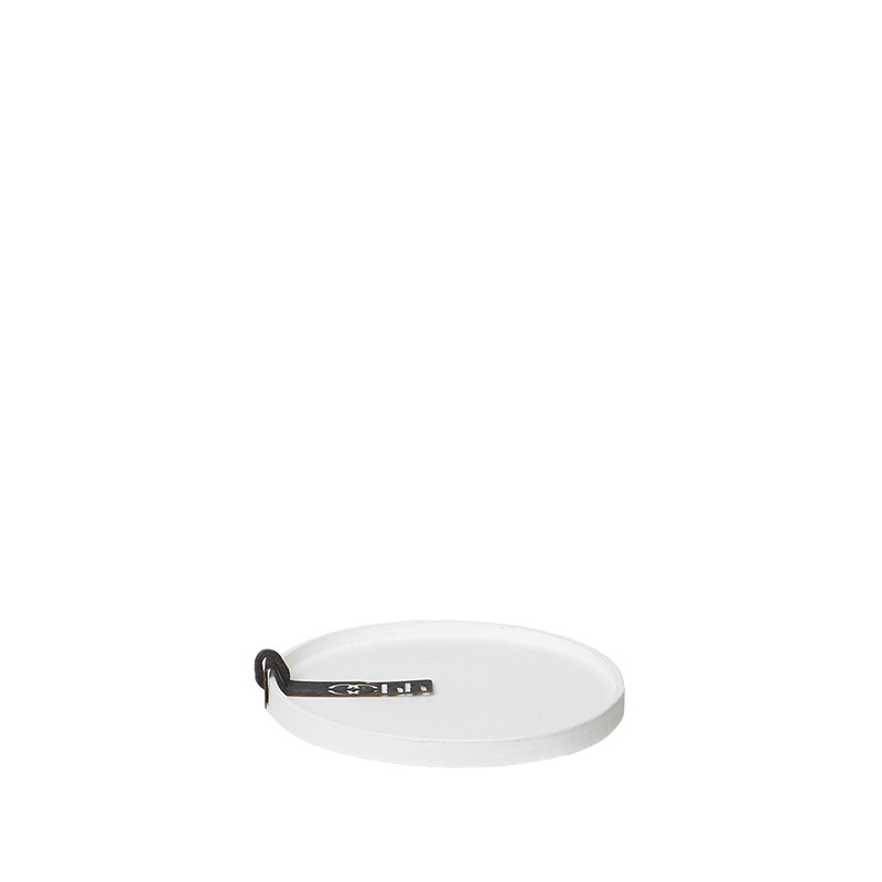 Image of   OOHH Rome Tray/Lid, White D11