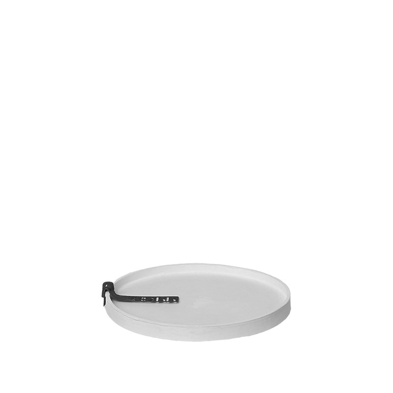 Image of   OOHH Rome Tray/Lid, Light Grey D13