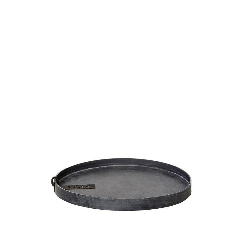 Image of   OOHH Rome Tray/Lid, Black D17