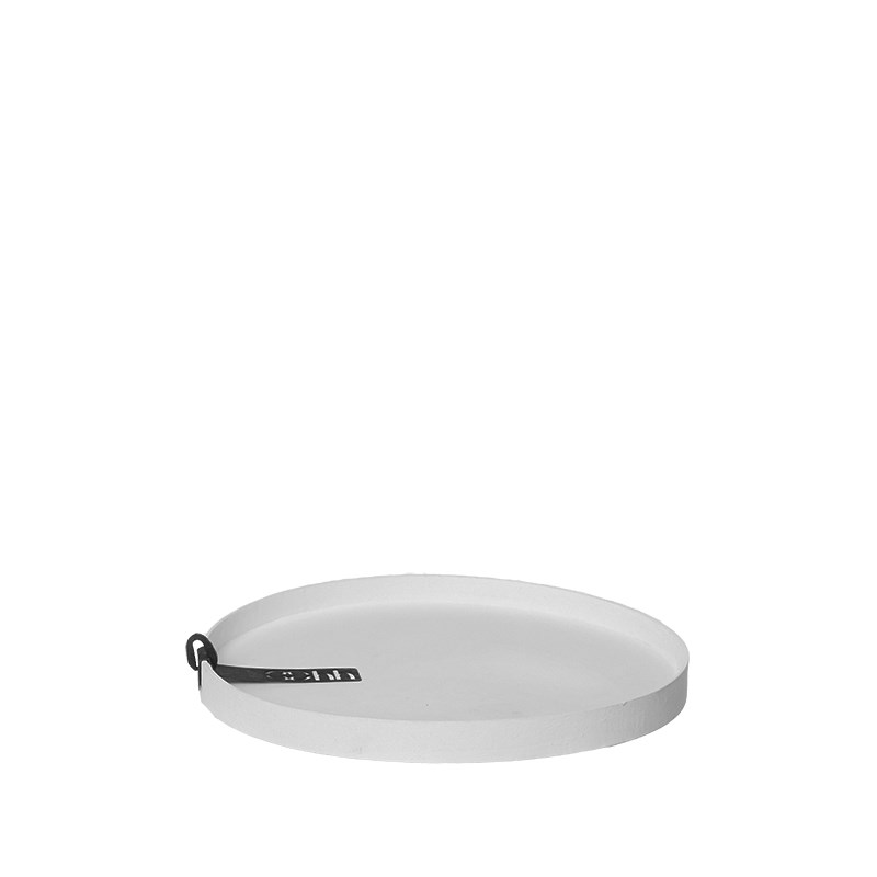 Image of   OOHH Rome Tray/Lid, Light Grey D17