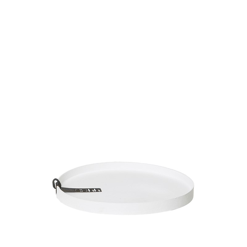 Image of   OOHH Rome Tray/Lid, White D17