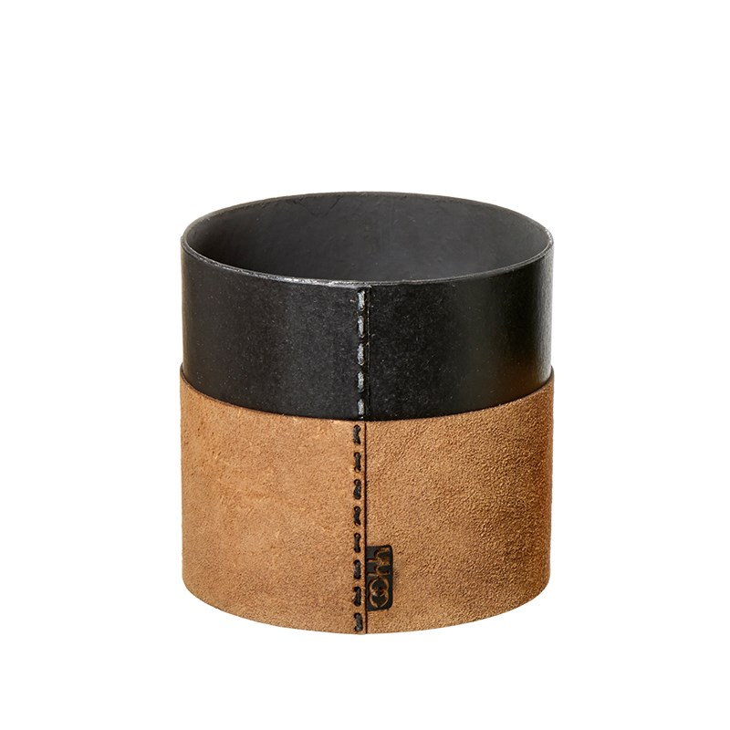 Image of   OOHH Suede cylinder, Nat D13 X H13
