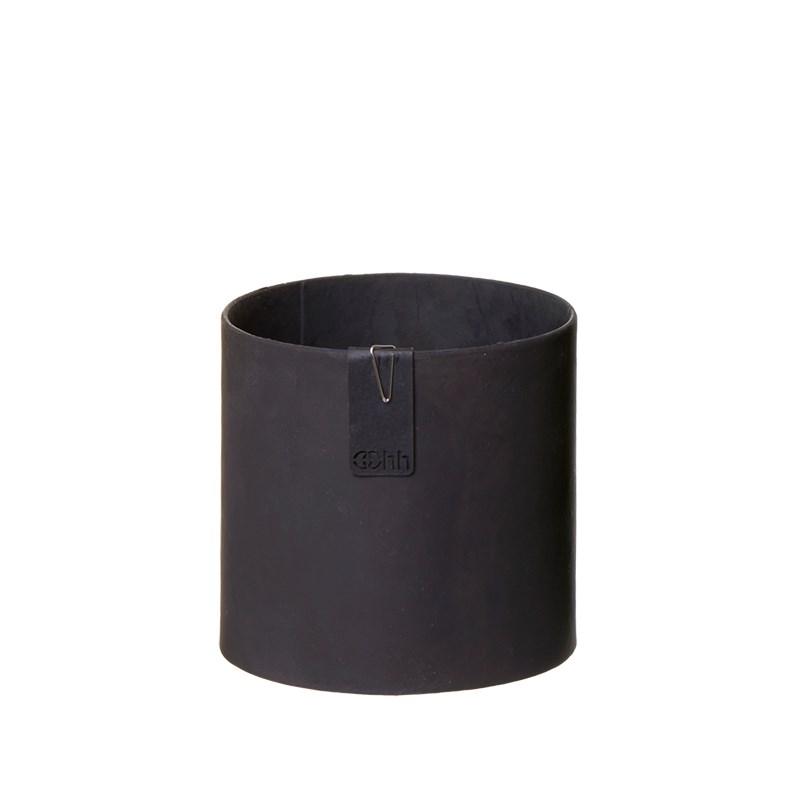 Image of   OOHH Tokyo cylinder Pot, Black D11 X H11