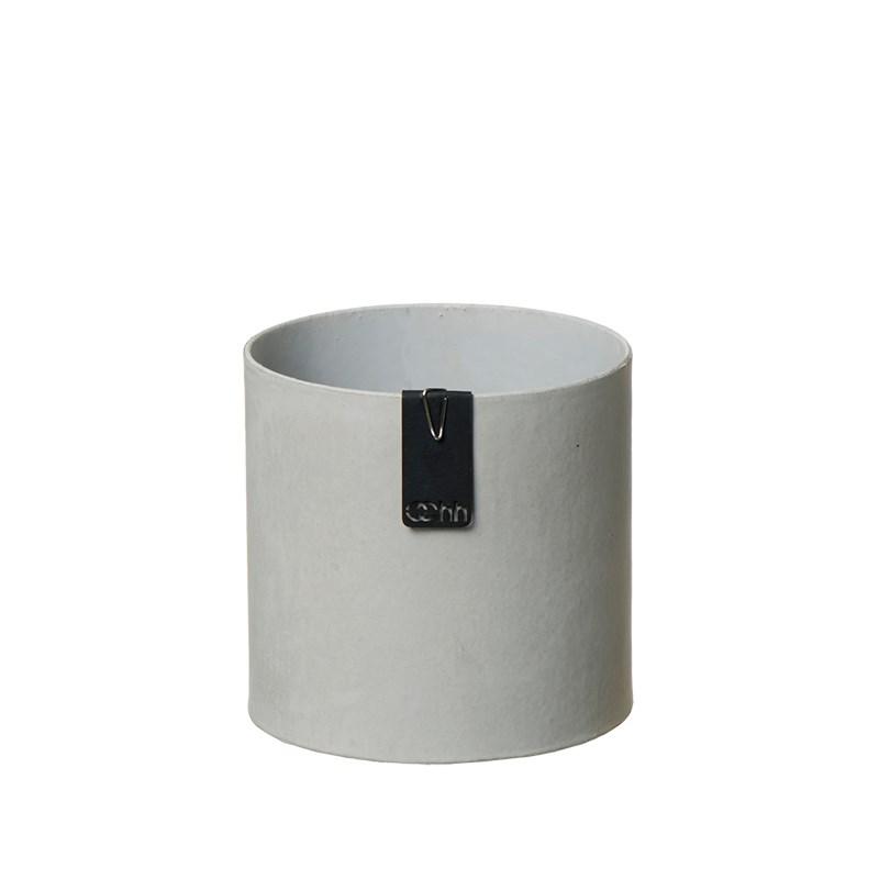 Image of   OOHH Tokyo cylinder Pot, Grey D11 X H11