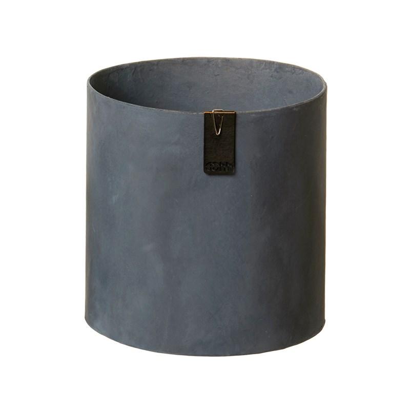 Image of   OOHH Tokyo cylinder Pot, Petroleum D17 X H17