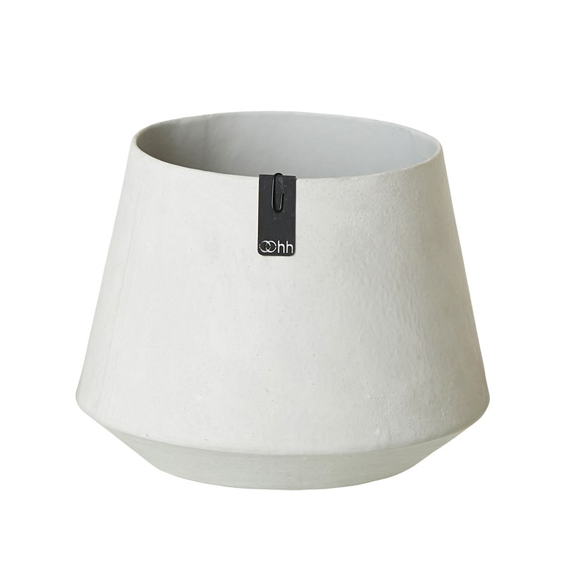 Image of   OOHH Tokyo Pot, Grey D13/18 X H13