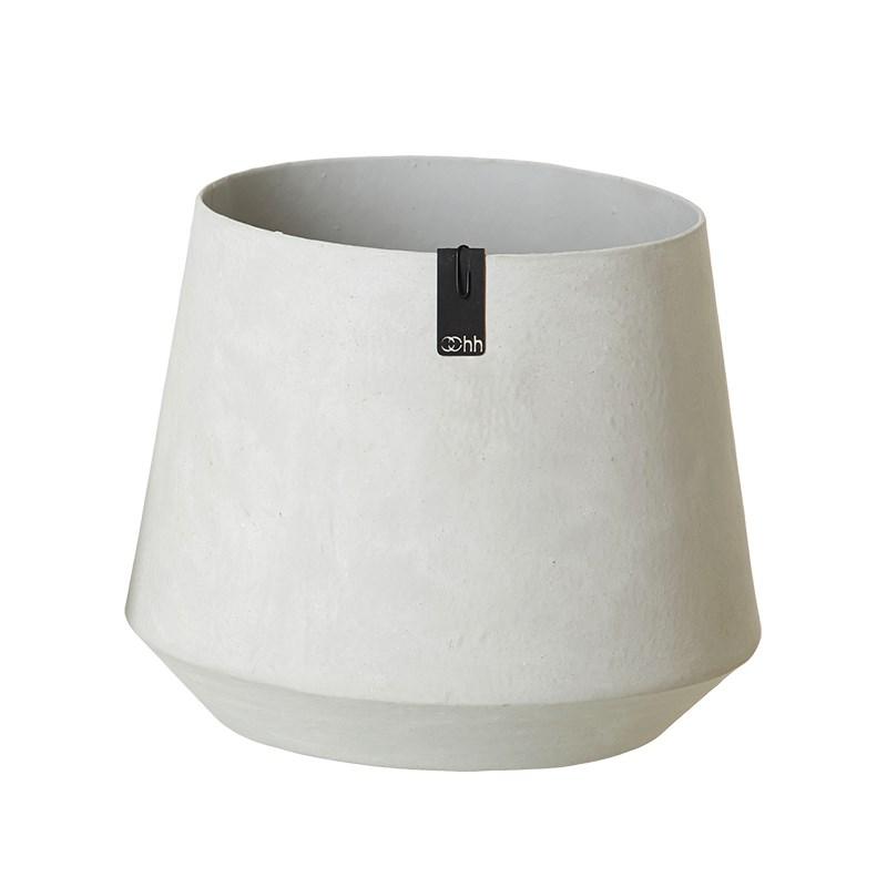 Image of   OOHH Tokyo Pot, Grey D22/27 X H22