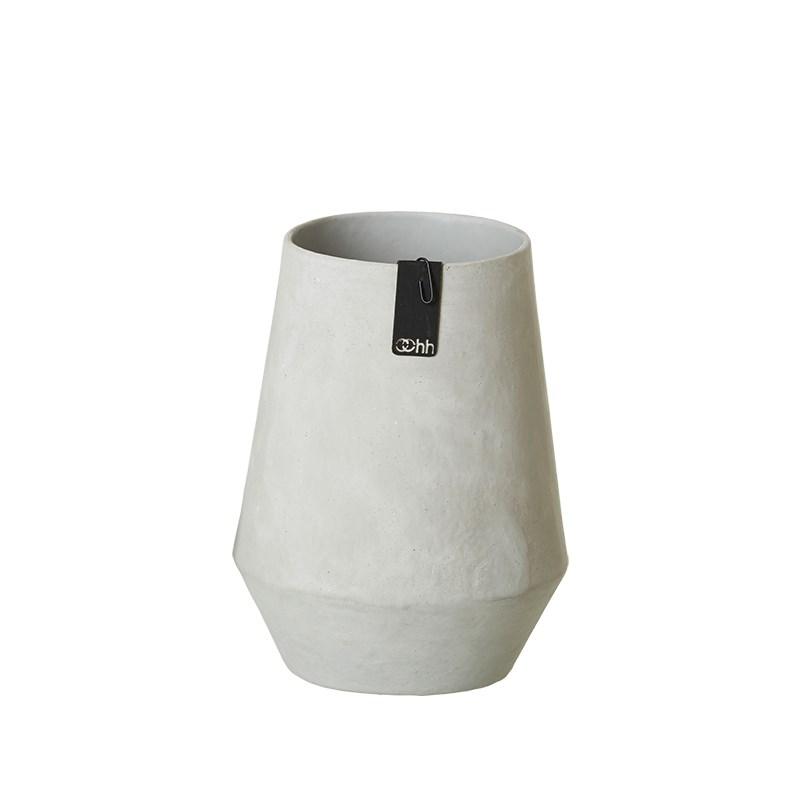 Image of   OOHH Tokyo Vase, Grey D10/15 X H20