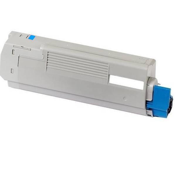 OKI C5600/5700 C Lasertoner, Cyan, kompatibel (2000 sider)