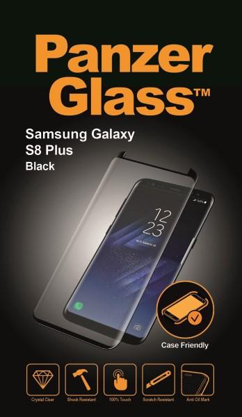 PanzerGlass Samsung S8 Plus CaseFriendly, Black