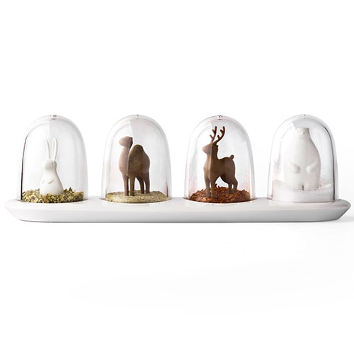 Image of   Qualy design Animal Parade Spice Shaker