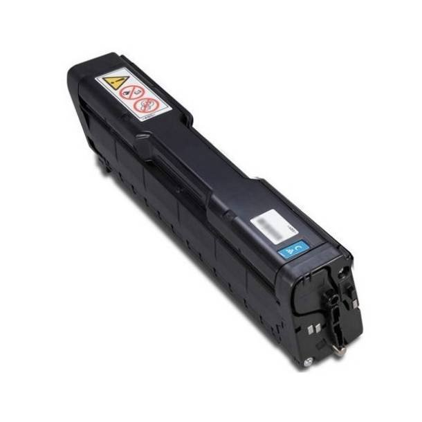 Ricoh SP C252 C lasertoner – 407717 Cyan 6000 sider