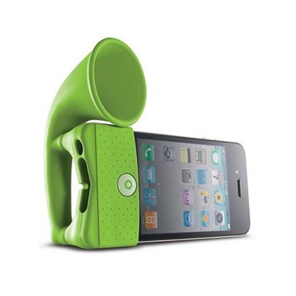Image of   iPhone horn - Grammofon til din iPhone Blå