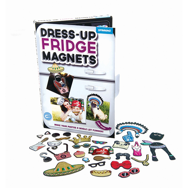 Image of   Udklædningsmagneter til dine køleskabsbilleder Horror