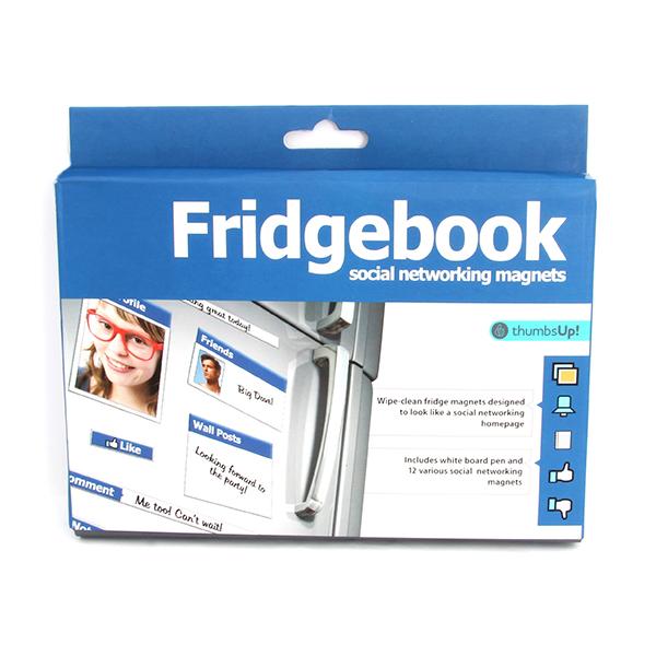 Image of   Fridgebook - køleskabsmagneter