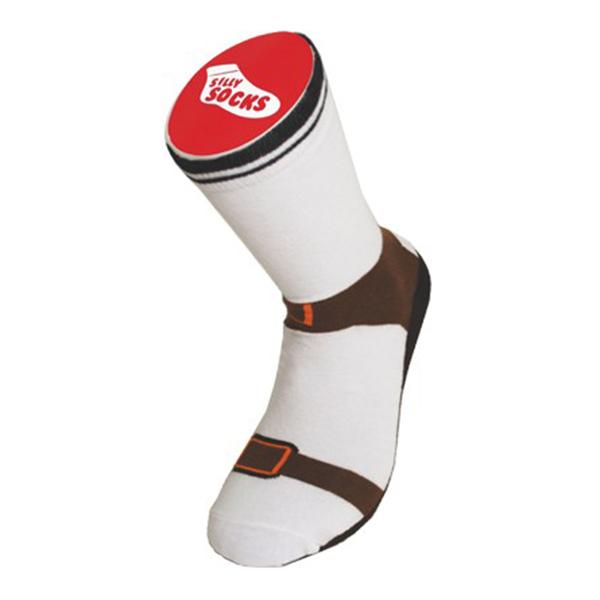 Image of   Silly Socks - sandal-strømpen