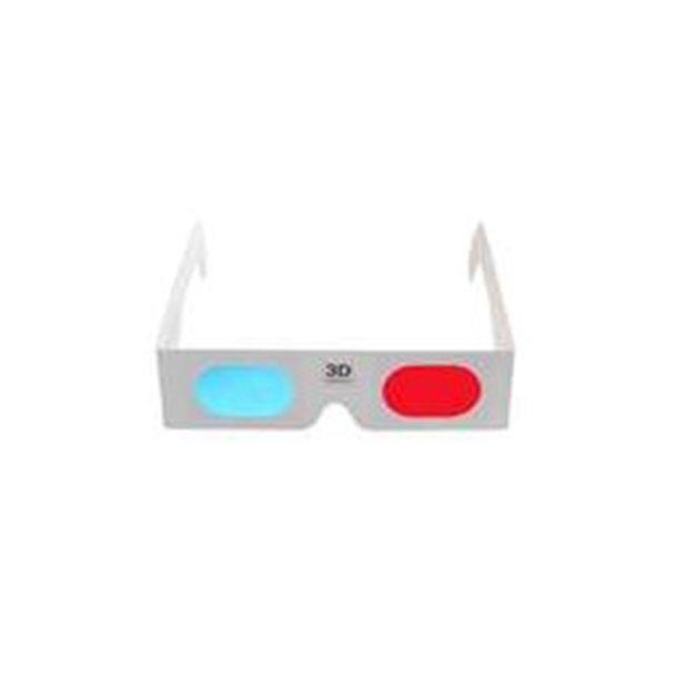 Nye Pap 3D-Briller Rød/Cyan (blå) 10 stk. - Random - Randomshop DE-31