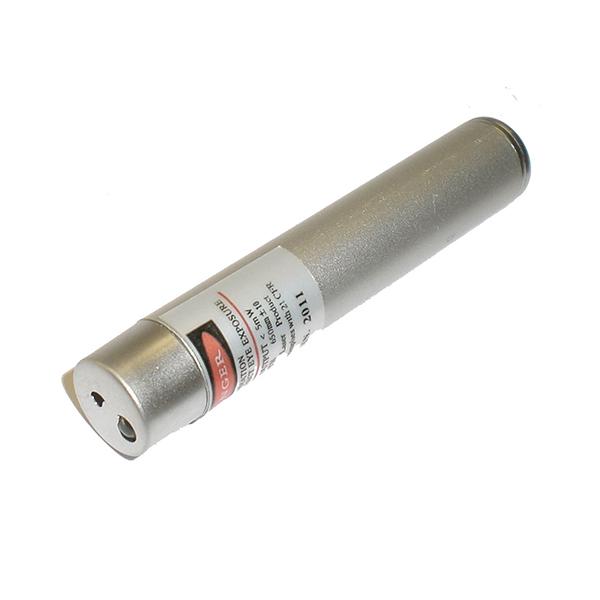 Image of   Laserpointer med nøglering og LED-lys