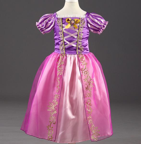 Image of   Kostumer til piger M Rapunzel
