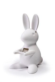 Image of   Qualy Desk Bunny tape dispenser, hvid