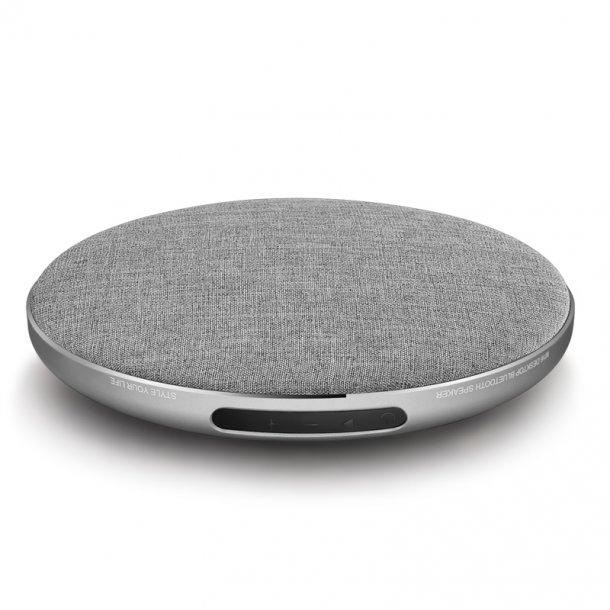Bluetooth högtalare M16, trådlös, alumunium / grå