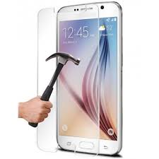 Image of   Tempered glass protection film for Samsung S6 edge