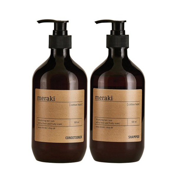 Meraki valuepack, shampoo/balsam, Cotton Haze