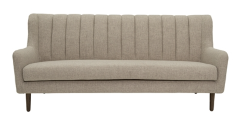 Image of   Bloomingville Stripe sofa (Light beige)