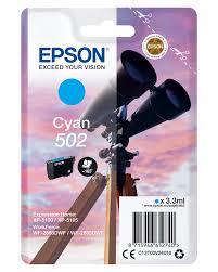 Epson T502 C blekkpatron - C13T02V24010 original - Cyan 3,3 ml