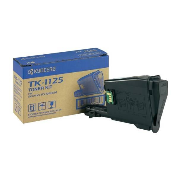 Kyocera TK-1125 BK lasertoner – 1T02M70NL1  – Sort 1200 sider