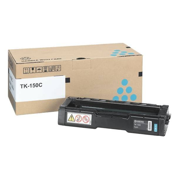 Kyocera TK-150 C lasertoner – 1T05JKCNL0  – Cyan 6000 sider