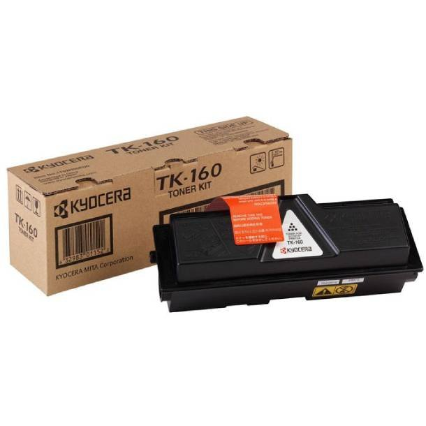 Kyocera TK-160 BK lasertoner – 1T02LY0NLC  – Sort 2500 sider