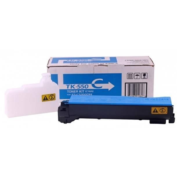 Kyocera TK-550 C lasertoner – 1T02HMCEU0  – Cyan 6000 sider