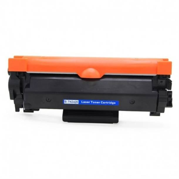 Brother TN 2420 lasertoner – B2420XP Sort 6000 sider