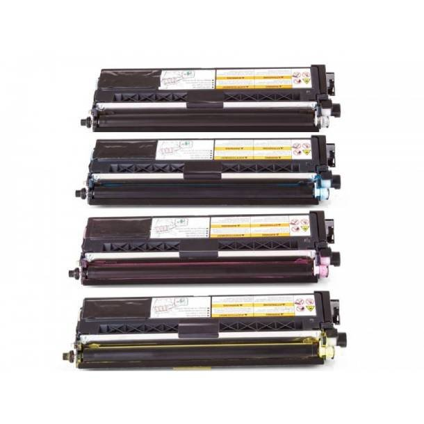 Brother TN 910 combo pack 4 stk lasertoner BK/C/M/Y 36000 sider