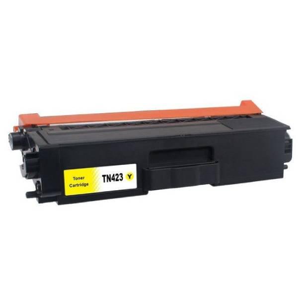 Brother TN 423 Y lasertoner – B423Y Gul 4000 sider