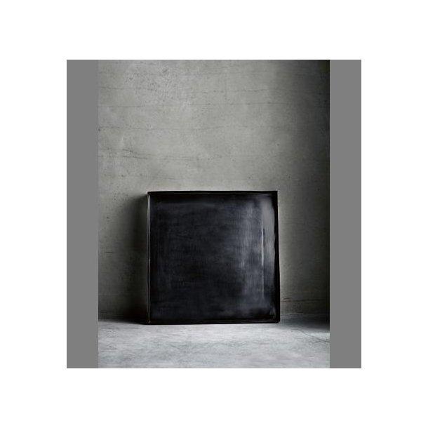 metalbakke i antik sort fra tine k k b online. Black Bedroom Furniture Sets. Home Design Ideas