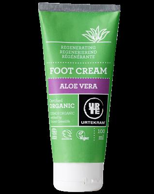 Urtekram Aloe Vera fodcreme regenererende øko 100 ml
