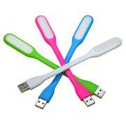 USB LED lys til pc eller powerbank Sort