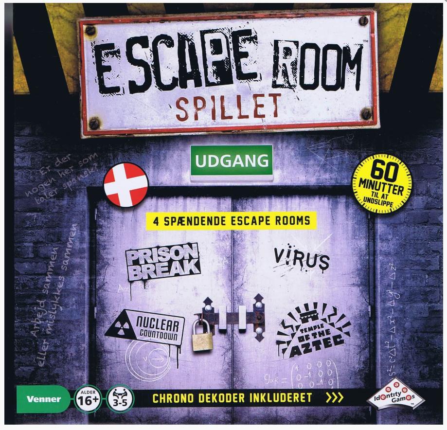 Image of   Escape Room spil