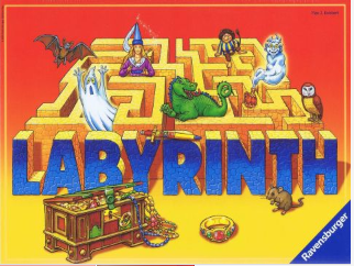 Image of   Den Fortryllede Labyrint