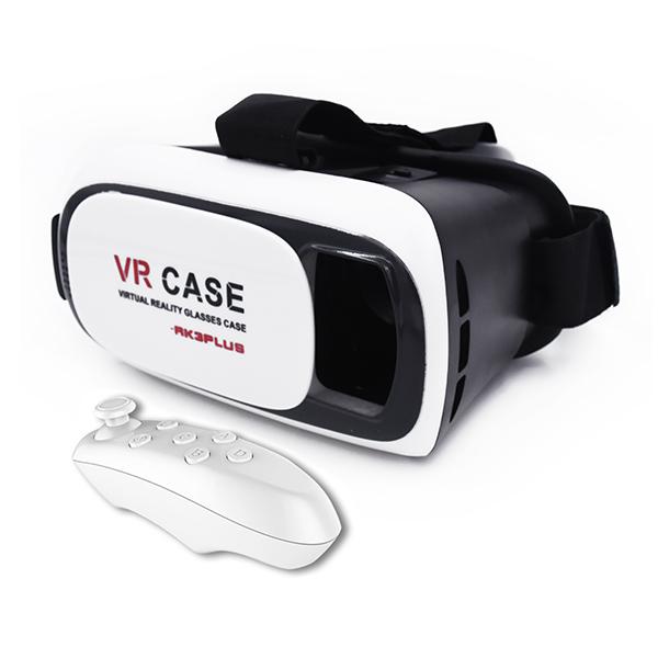 VR briller til Android og iPhone incl fjernbetjening